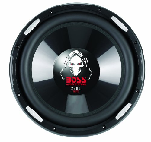 Boss Audio P126Dvc Phantom 12-Inch 2300-Watt Dual Voice Coil Subwoofer