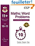 10-Minute Tests for 11+ Maths: Word P...