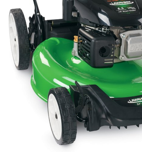 lawn boy  kohler high wheel push gas walk  lawn mower    honda engine