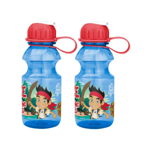Plastic Water Bottle With Straw front-1071238