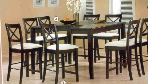 Counter High Table And 8 Chairs Angela Barese0006