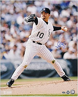 "Mike Hampton Colorado Rockies Autographed 16"" x 20"" Pitching Photograph - Fanatics Authentic Certified"