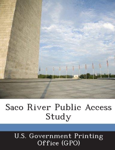 Saco River Public Access Study