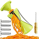 Brieftons NextGen Spiralizer: 4-Blade Vegetable Spiral Slicer,...
