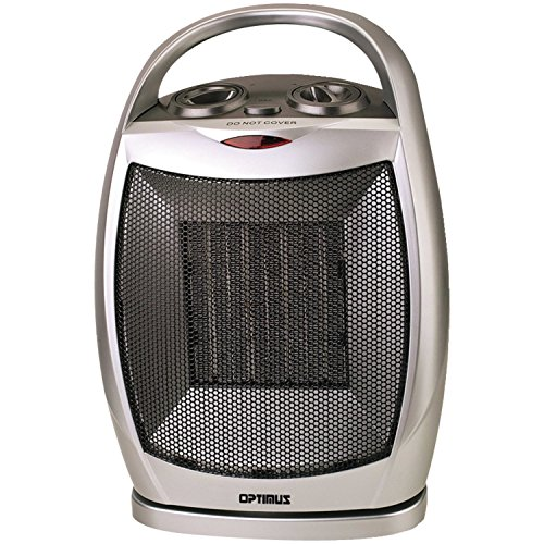 Optimus Optimus H-7247 Portable Oscillating Ceramic Heater with Thermostat B005TH6HQA