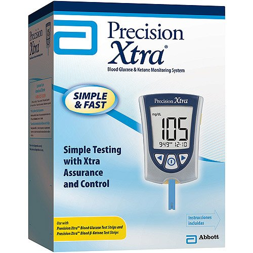 Precision Xtra Blood Glucose and Ketone Monitoring System