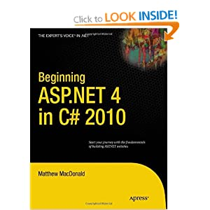 Beginning ASP.NET 4.0 in C# 2010 (Expert&#39;s Voice in .NET)