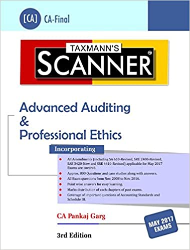 Scanner- Advanced Auditing & Professional Ethics (CA-Final)