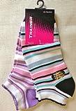 6 Pairs Ladies Trainer Socks Size UK 4-6 Euro 35-40 asst