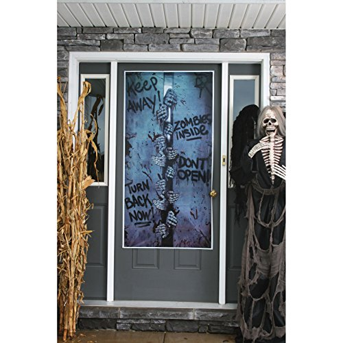 Zombie Door Cover Breakout Decoration - 1