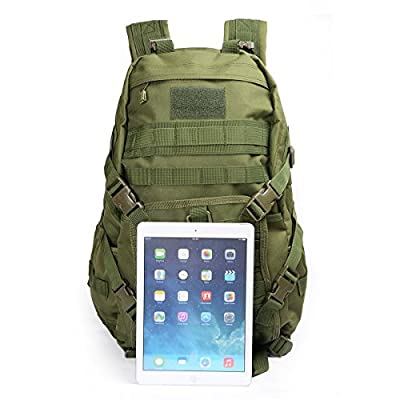 Hikingworld 40L Military Army Patrol MOLLE Assault Pack,strike Pack,tactical Combat Rucksack Backpack Bag,also for Travelling/hiking/camping/cycling.