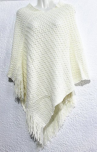 New Women Poncho Batwing Cape Top Cardigan Casual Everyday Wear Sweater Coat-Y92C
