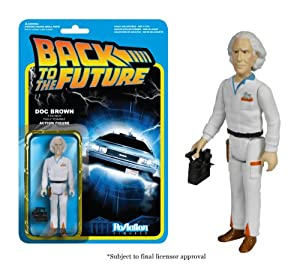 Funko Back to The Future Doc Emmett Brown ReAction Figure