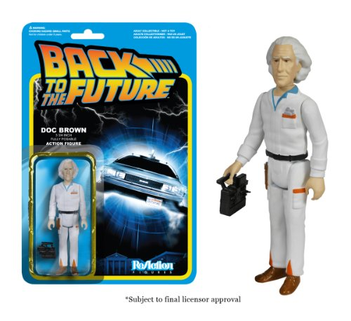 Funko Back to The Future Doc Emmett Brown ReAction Figure - 1