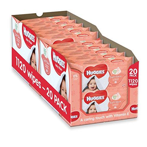 huggies-soft-skin-baby-wipes-20-packs-1120-wipes-total