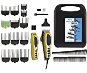 Wahl Groom Pro Total Body Grooming Kit #79520-3101p, Yellow/black, 22-Count
