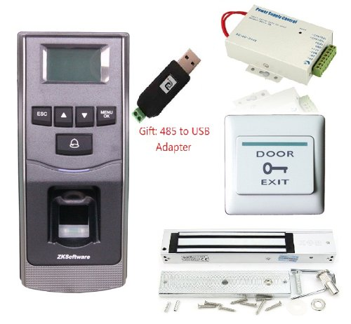 Zksoftware F6 Fingerprint Door Access Control Biometric Door Access Control Kit Support Rs485, Sd Card