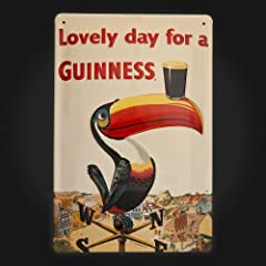 Toucan Metal Sign 20 x 30 cm