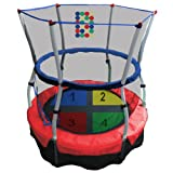 Skywalker Skywalker Trampolines 4-ft. Round Color and Counting Bouncer and Enclosure, Red, Steel, 4 ft.