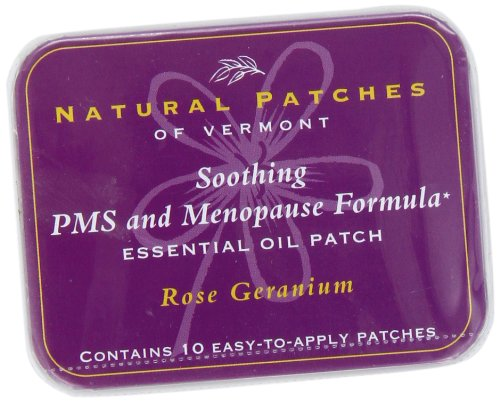 Naturopatch Of Vermont Rose Geranium Relief From PMS & Menopause Body Patches...