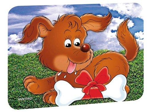 2-er Set Sun Pad Sonnenschutz für Auto und Wohnwagen, Motiv: Hund, Maße:44x32 cm