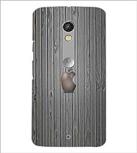 PrintDhaba Apple D-5560 Back Case Cover for MOTOROLA MOTO X PLAY (Multi-Coloured)