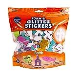 Creative Hands by Fibre-Craft Glitter and Foam Sticker Bag, Faith