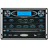 Jensen AWM965 AM/FM|CD|DVD|MP3/USB Wallmount Stereo, DVD player, Front USB supports MP3, WMA, JPEG, Remote control included, 12 volt