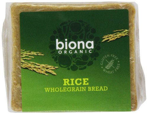 Biona Organic Rice Bread 500 g (Pack of 3)