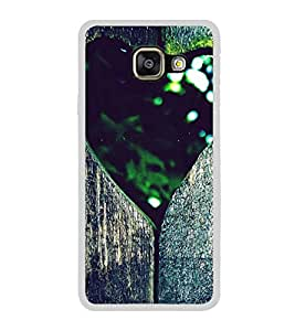Heart 2D Hard Polycarbonate Designer Back Case Cover for Samsung Galaxy A3 (2016) :: Samsung Galaxy A3 2016 Duos :: Samsung Galaxy A3 2016 A310F A310M A310Y :: Samsung Galaxy A3 A310 2016 Edition