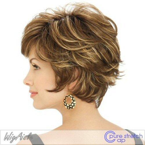 Estetica Design TRUE SHORT FEATHERY LAYERED LOOK W/ Womens Wig from Estetica