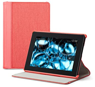 """Belkin Chambray Cover for All Kindle Fire HD (will only fit All Kindle Fire HD 7""""), Sorbet"""