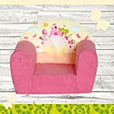 "Kindersessel ""MINI"" Pink Castle W387_09"
