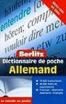 Dictionnaire de poche fran�ais-allema...