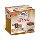 Grove Square Hot Cocoa Cups, Milk,Single Serve Cup for Keurig K-Cup Brewers, 16-Count (Pack of 3)