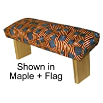 Folding Prayer Bench, Patriotic Edition
