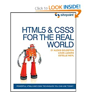 HTML5 for the Real World Image