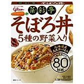 江崎グリコ 彩菜亭 そぼろ丼 150g×10個