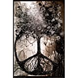 (24x36) David Wolcott Wilhelm (Tree of Peace) Art Poster Print