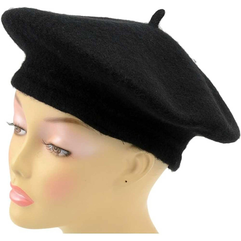 Funny Hat Caps Beanies Skullies Fedoras Berets Dress: Wool Felt French Beret Artist Tam Hat Costume Accessory
