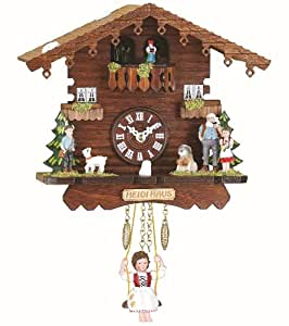 Amazon.com - Black Forest Clock Swiss House, turning dancers, incl