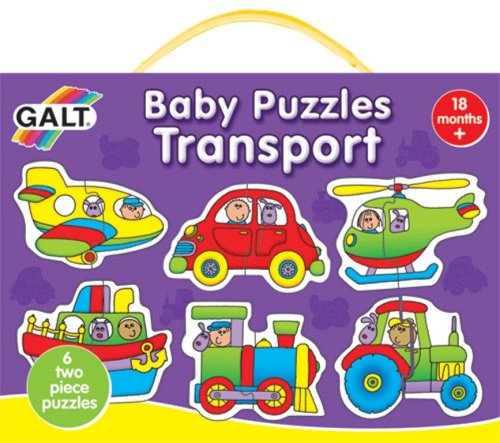 Galt New Baby Puzzles  Transport