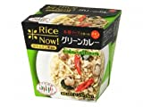 nobrand タイの台所 Rice Nowグリーンカレー 170g×12個 食品 (586462)