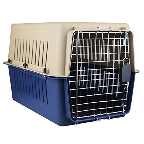 Glantop Portable Airline Approved Dog Pet Cat Carrier Outdoor Kennel for Dogs/Cats Travel (Large 24×15.7×15.7 Inch)