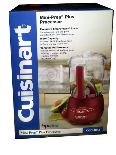 Cuisinart Red Food Processor