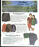L L Bean Catalog Summer 1980 fishing tackle canoes knives axes clothing