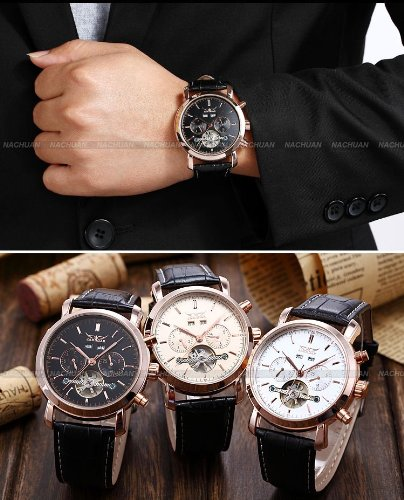 bracelet montre cuir homme luxe. Black Bedroom Furniture Sets. Home Design Ideas