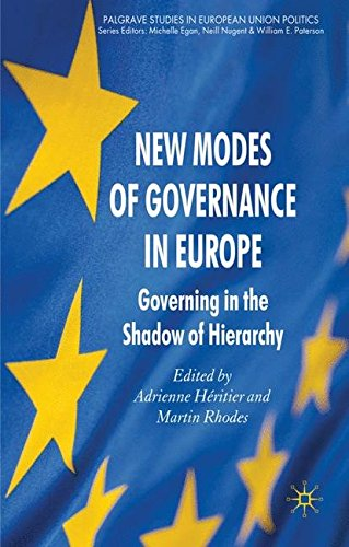 New Modes of Governance in Europe: Governing in the Shadow of Hierarchy (Palgrave Studies in European Union Politics)
