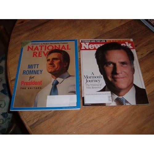 newsweek mitt romney. Mitt Romney-Presidential
