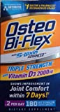 Osteo Bi-Flex - Glucosamine Chondroitin with 5-Loxin and Vitamin D3 2000IU, 180 ct. Value Size